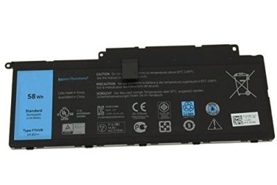 Techie Compatible for Dell F7HVR  T2T3J G4YJM 062VNH Inspiron 17 7737 Series Inspiron 15 7537 Series Laptop Battery.
