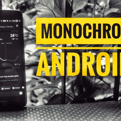 Monochrome launcher