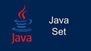 Java Set