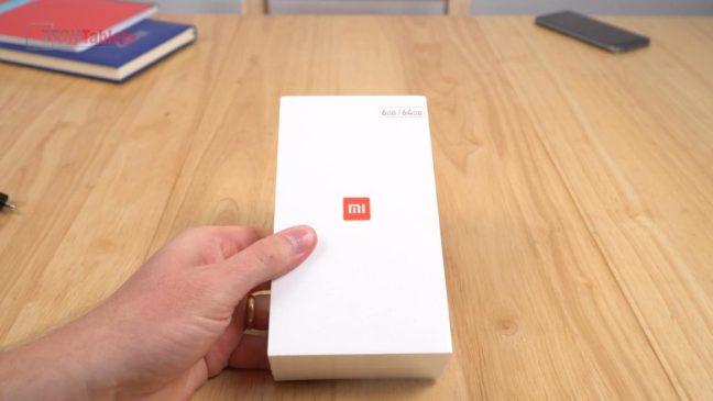 Xiaomi mi6 box design