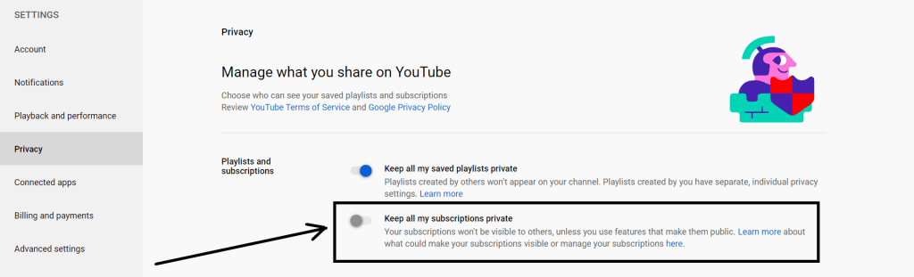 how to tell when you subscribed to a youtube channel