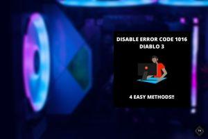 How To Disable Error Code 1016 Diablo 3   4 Easy Methods   100% Working!!