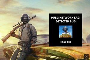 Fix Pubg Network Lag Detected Bug | 3 Methods