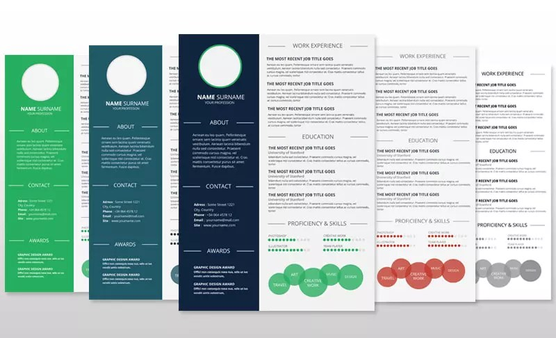 Simple Infographic Resume Download Resume Template