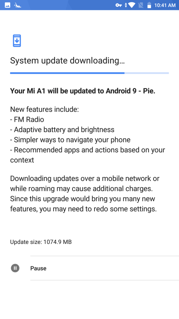 Android Pie For Mi A1 - Techinfo Nepal