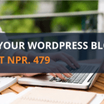 Host Your WordPress Blog at Just NPR.479 11