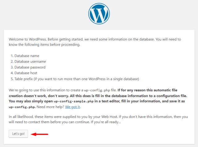 Step 6- Install WordPress on Localhost