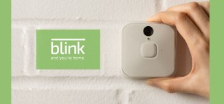 Blink Wireless Home Security Cameras Runs for 2 Years of AA Batteries