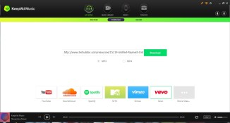 Keepvid Music Review – Your personal Online Music Store