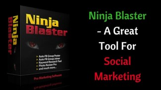 Ninja Blaster Review – A great tool for social marketing