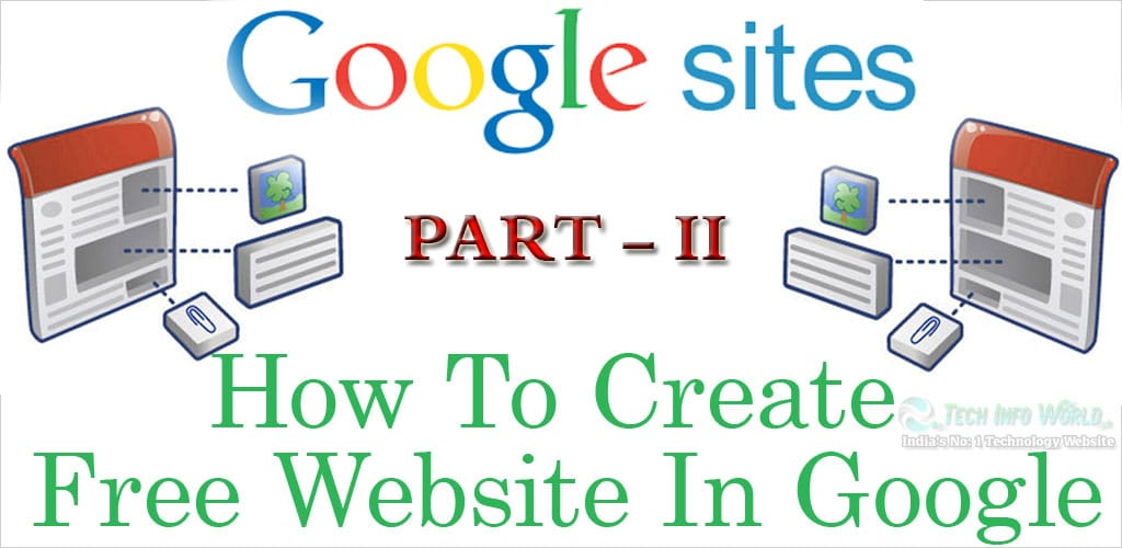 How To Personalize Your Home Page On Google Website Partii