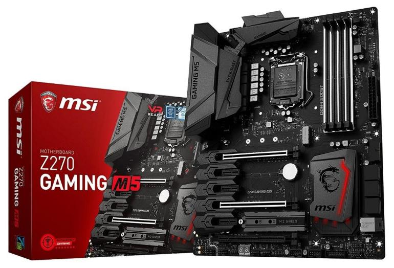 MSI Computer Z270 gaming motherboards