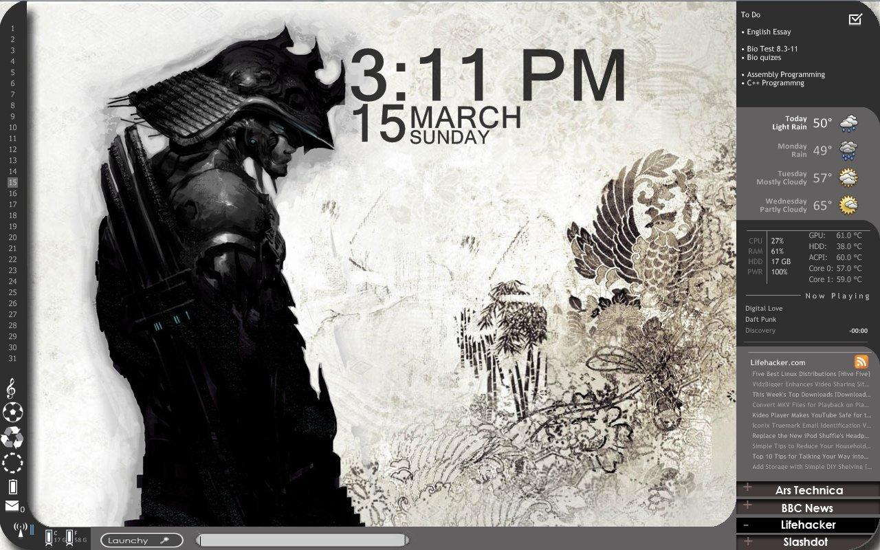 21 best Rainmeter Skins to use in 2019 ( AWESOME SKINS)