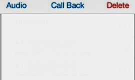 iPhone Voicemail won't Play