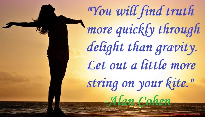 Motivational Quotes on Alan Cohen