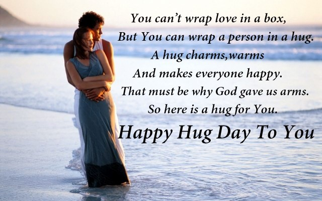 Happy Hug Day 4
