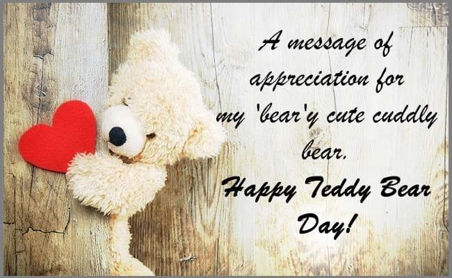 Happy Teddy Day 1