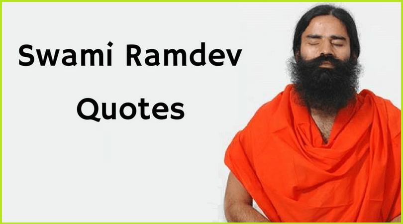 Baba Ramdev Quotes