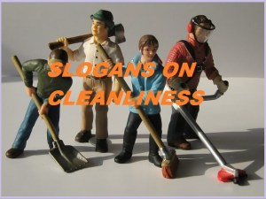 Slogans on Cleanliness in English