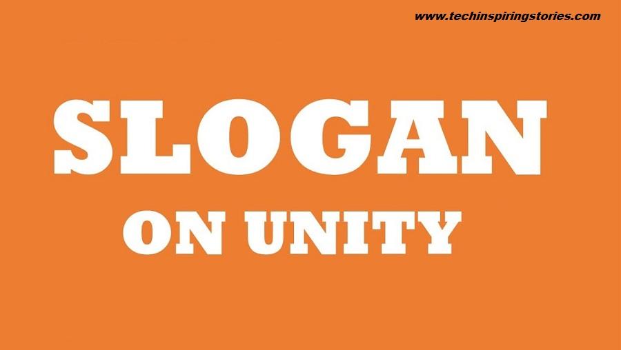 Slogan on Unity