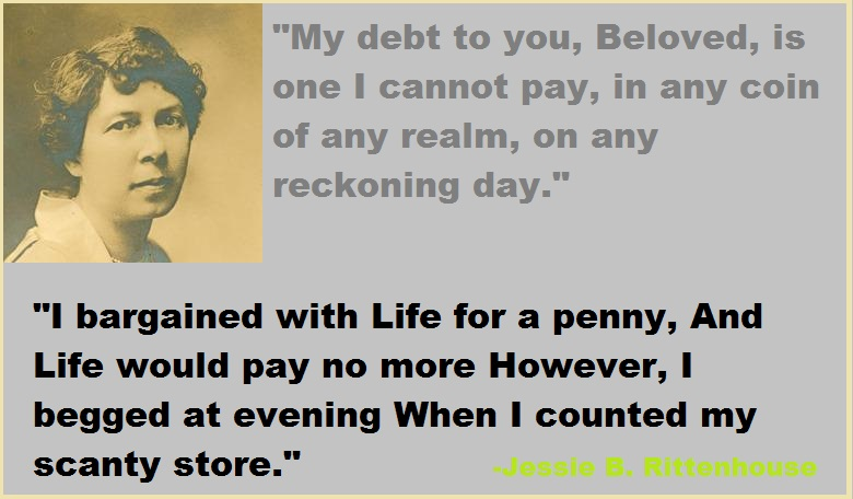Jessie B. Rittenhouse quotes