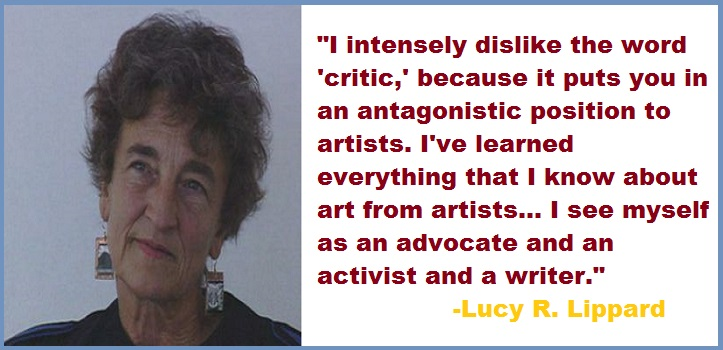 Lucy R. Lippard quotes
