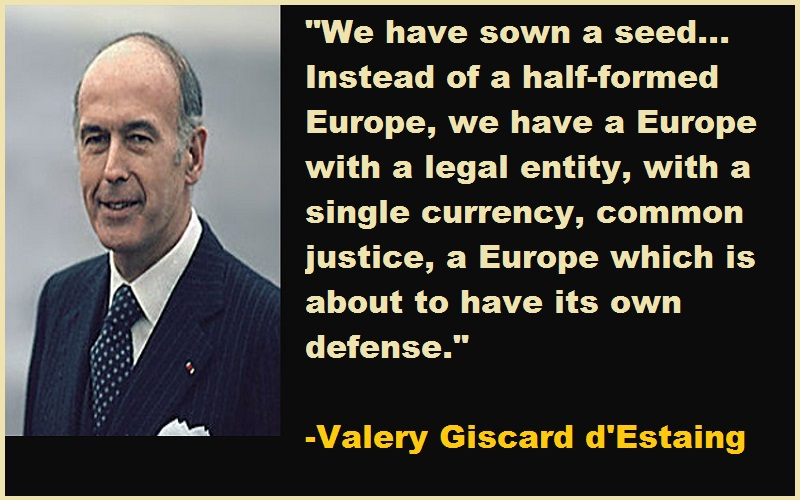 Valery Giscard d'Estaing Quotes
