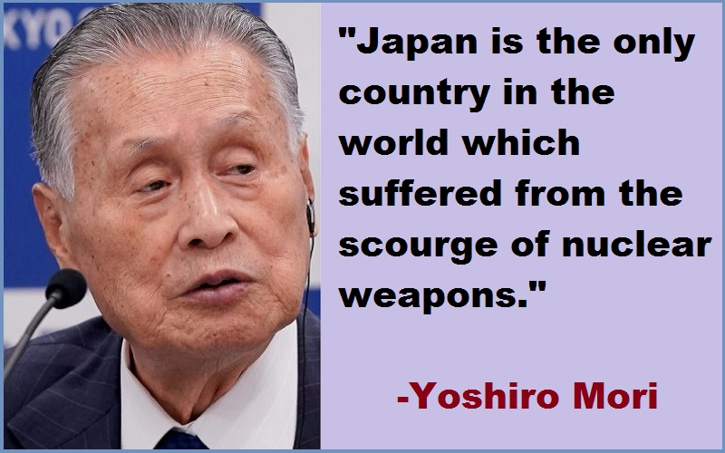 Yoshiro Mori Quotes