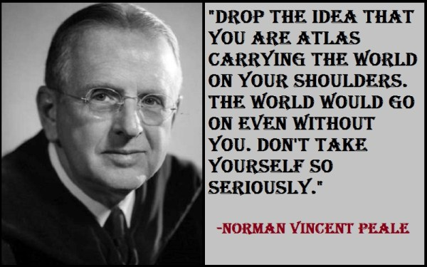 Inspirational Norman Vincent Peale Quotes