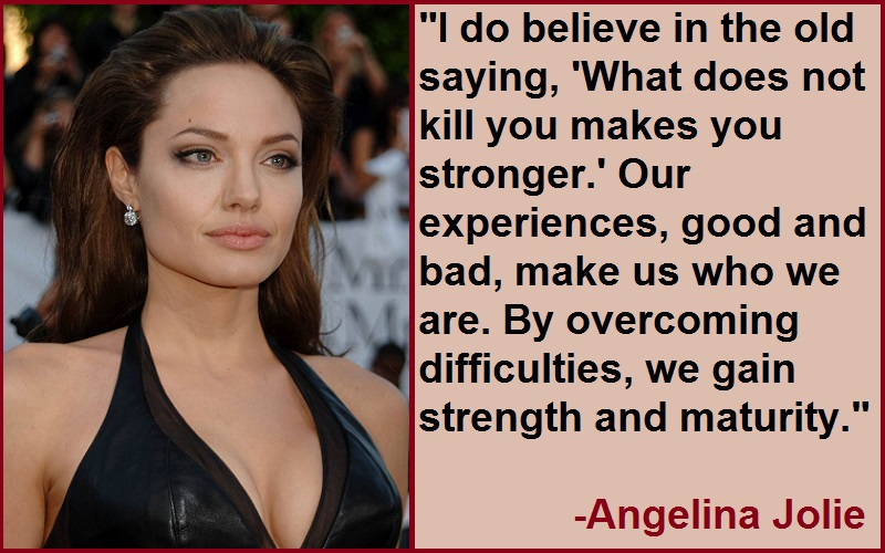Inspirational Angelina Jolie Quotes