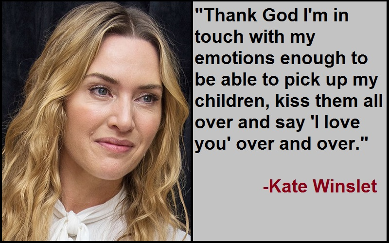 Inspirational Kate Winslet Quotes