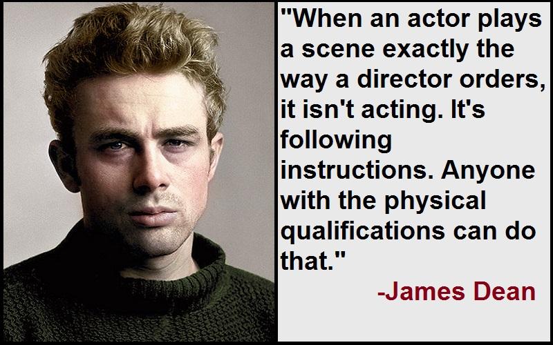 Inspirational James Dean Quotes