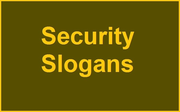Catchy Cyber Security Slogans