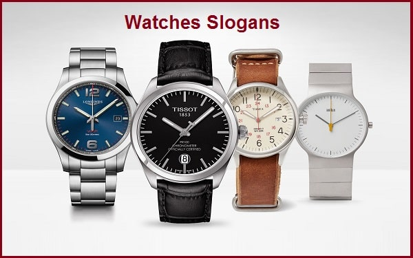 Catchy Watch Slogans & Taglines