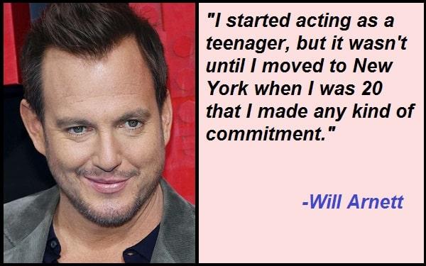 Inspirational Will Arnett Quotes