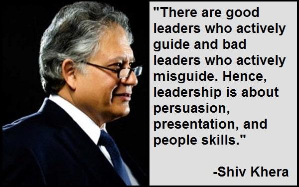 Inspirational Shiv Khera Quotes