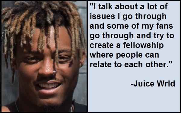 Inspirational Juice Wrld Quotes