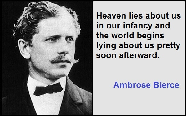 Inspirational Ambrose Bierce Quotes