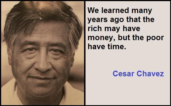 Inspirational Cesar Chavez Quotes