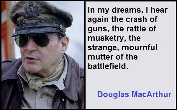 Inspirational Douglas MacArthur Quotes