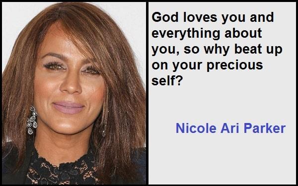 Inspirational Nicole Ari Parker Quotes