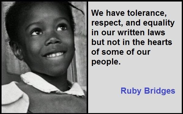 Inspirational Ruby Bridges Quotes