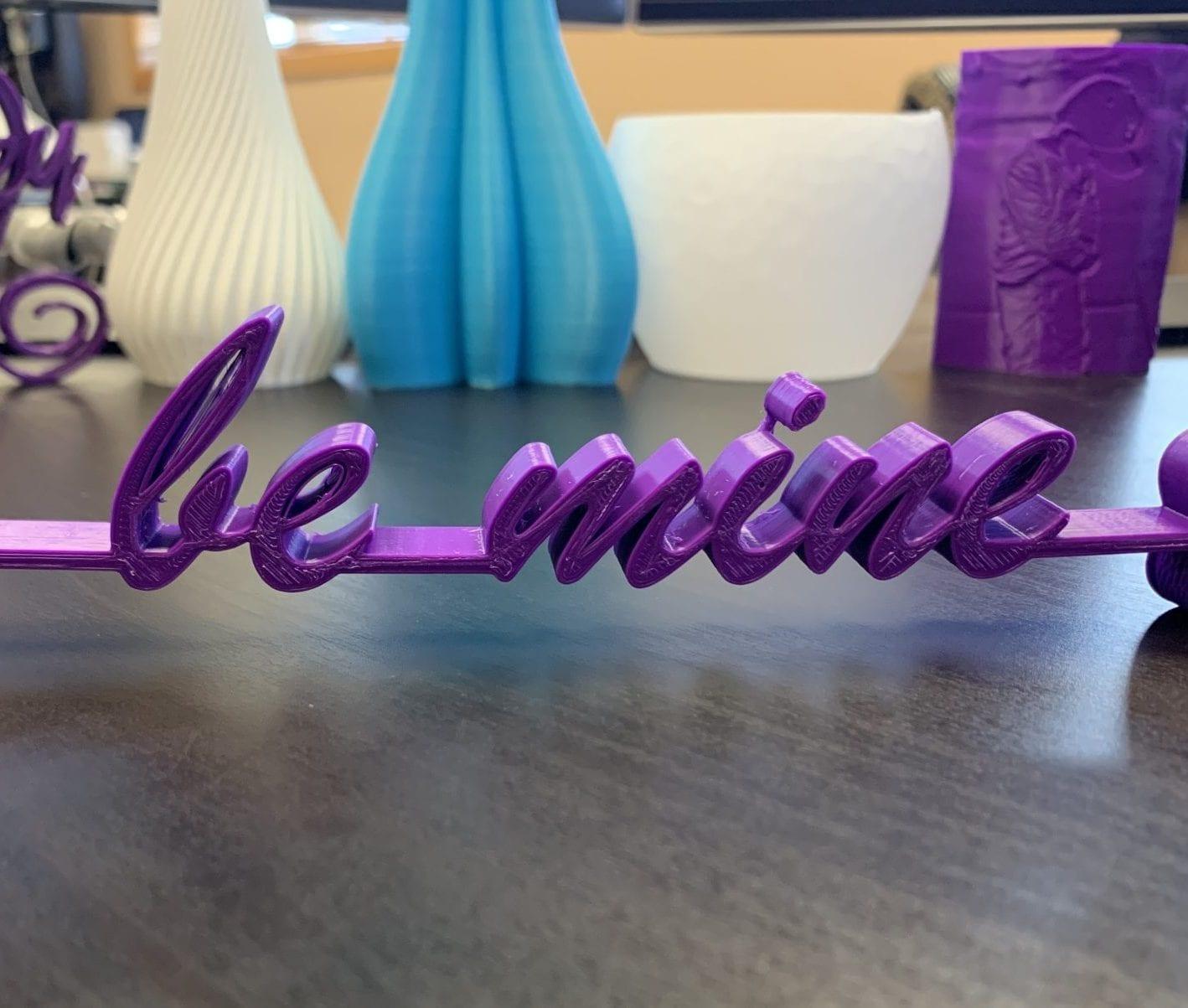 Be Mine Desk Ornament