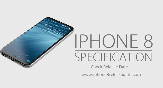 IPhone 8 specification
