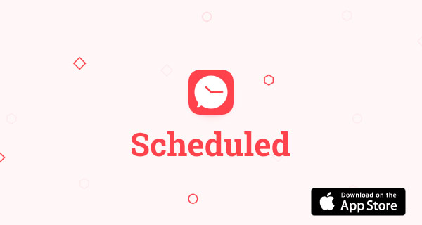 IPhone App Schedule