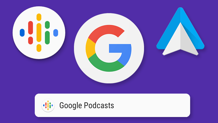 Google is rolling out Android Auto support for Podcasts