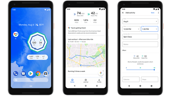 APK Download] Google Fit gets a home screen widget and improved activity tracking in latest update