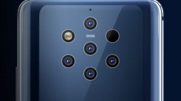 Nokia Reveals the Nokia 9 Pureview with Five Rear Cameras