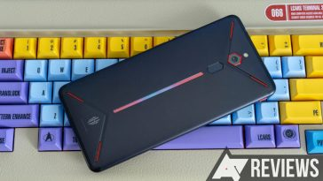 The Nubia Red Magic Mars is cheap, fast, ugly, and buggy