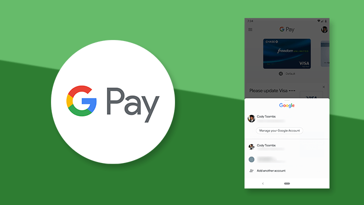 New Google Pay tweak makes account switching faster